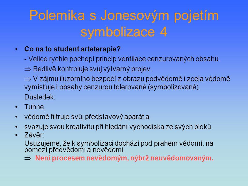 Polemika s Jonesovým pojetím symbolizace 4