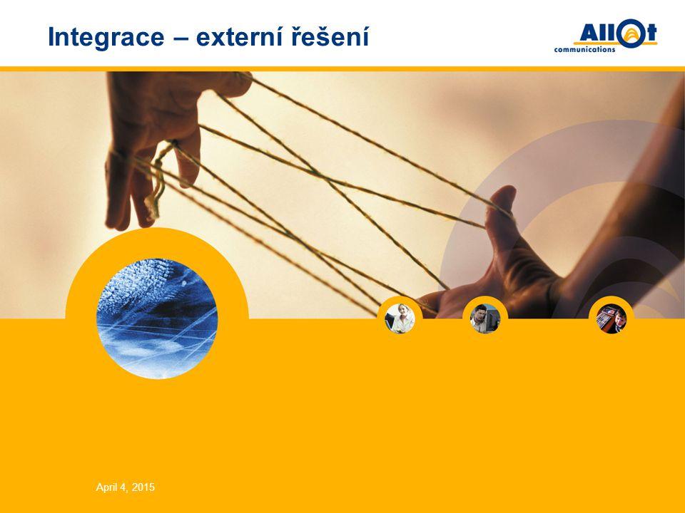 Integrace – externí řešení