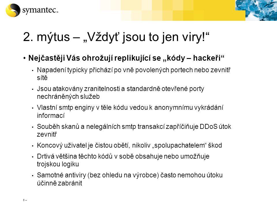"""2. mýtus – """"Vždyť jsou to jen viry!"""