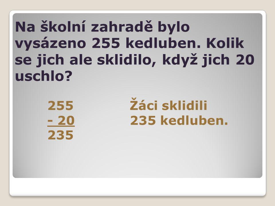 Na školní zahradě bylo vysázeno 255 kedluben