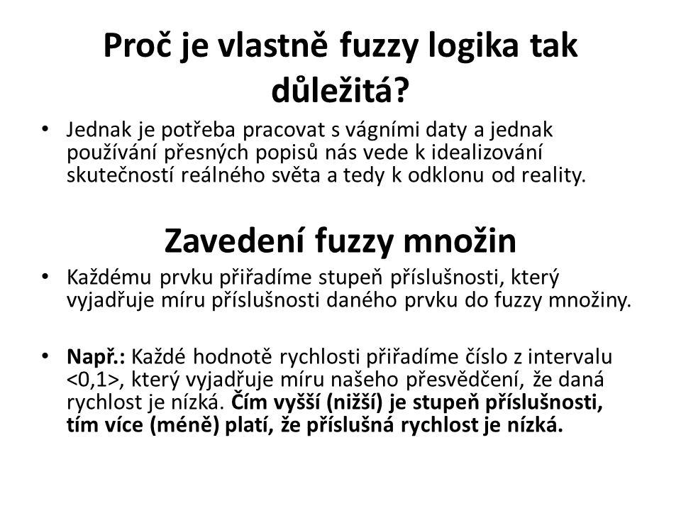 Proč je vlastně fuzzy logika tak důležitá