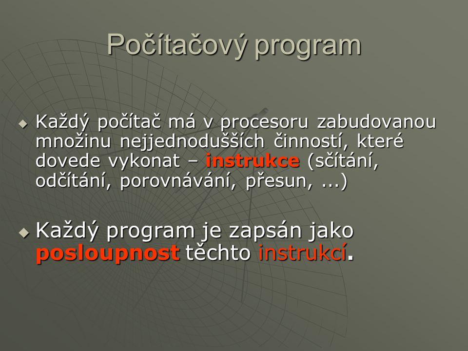 Počítačový program