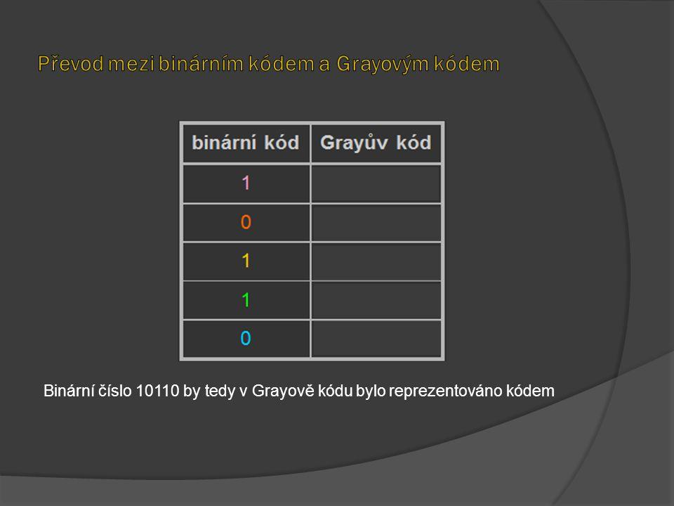 Převod mezi binárním kódem a Grayovým kódem