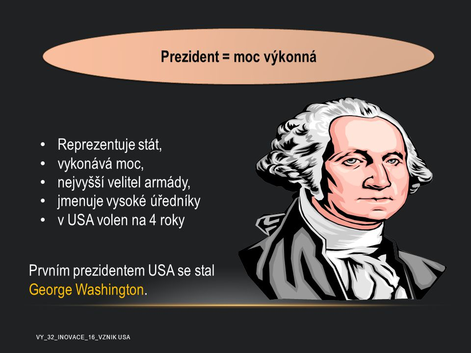 Prezident = moc výkonná
