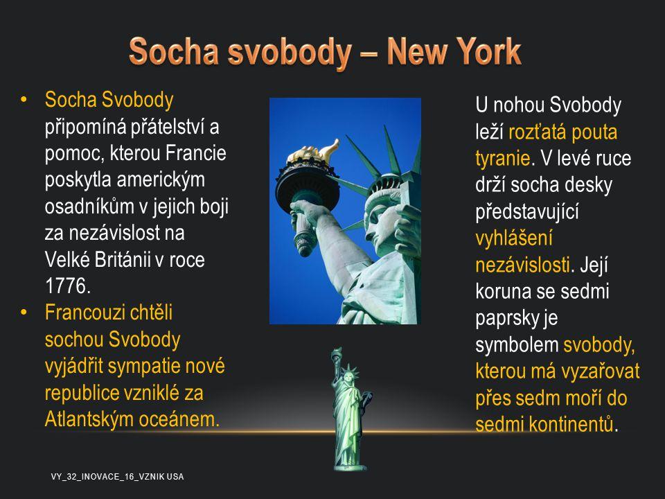 Socha svobody – New York