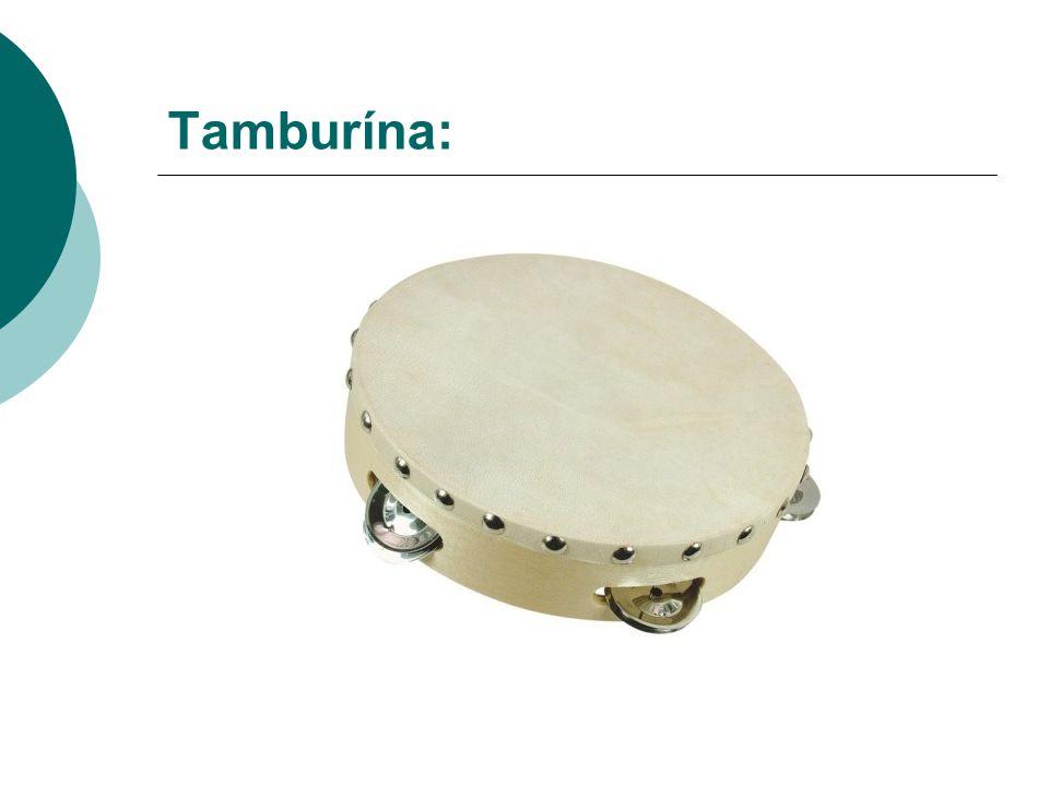 Tamburína: