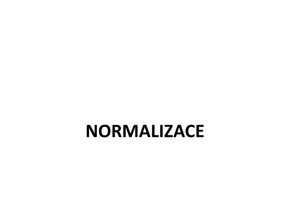 NORMALIZACE 12