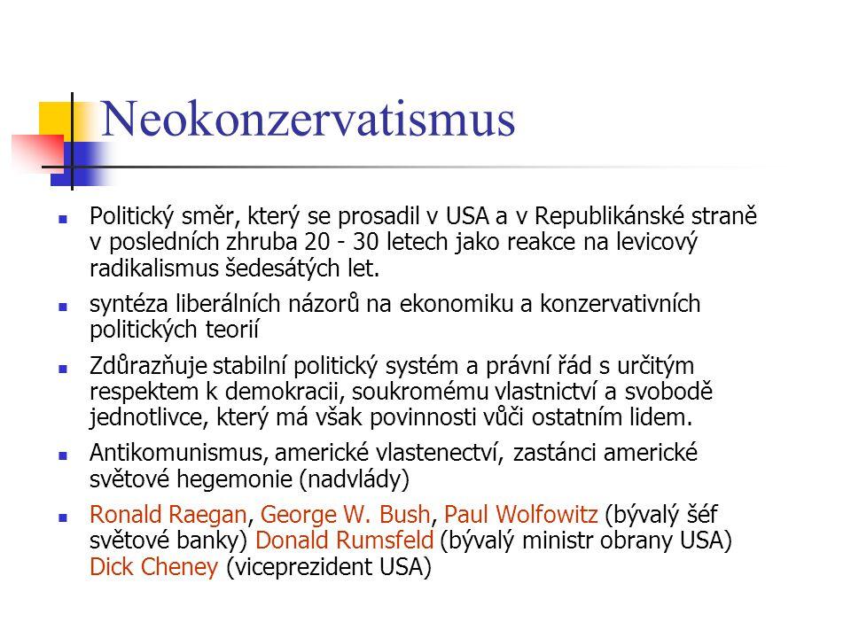 Neokonzervatismus