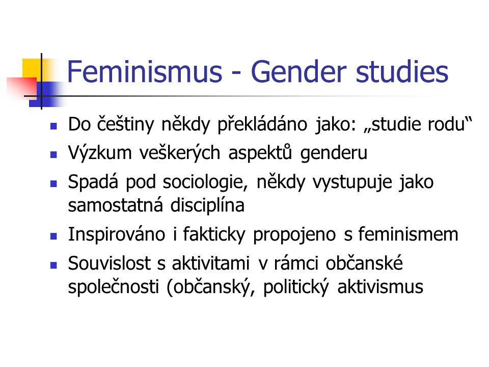 Feminismus - Gender studies