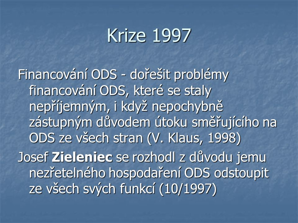 Krize 1997