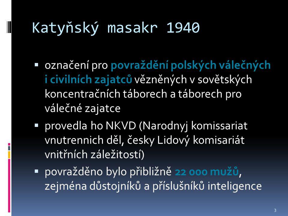 Katyňský masakr 1940
