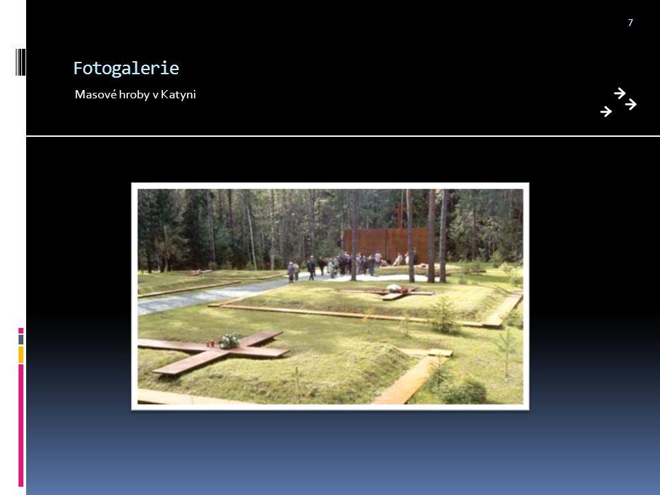 Fotogalerie Masové hroby v Katyni