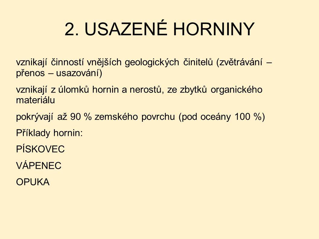 2. USAZENÉ HORNINY