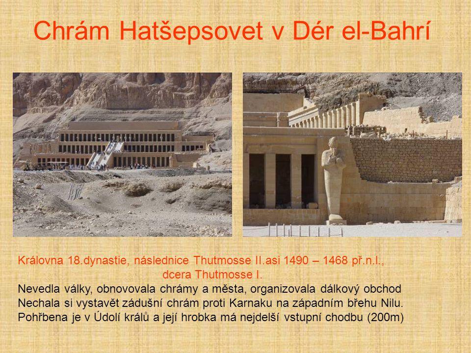Chrám Hatšepsovet v Dér el-Bahrí