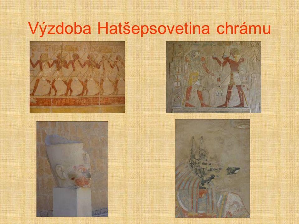 Výzdoba Hatšepsovetina chrámu