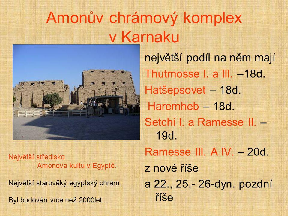 Amonův chrámový komplex v Karnaku