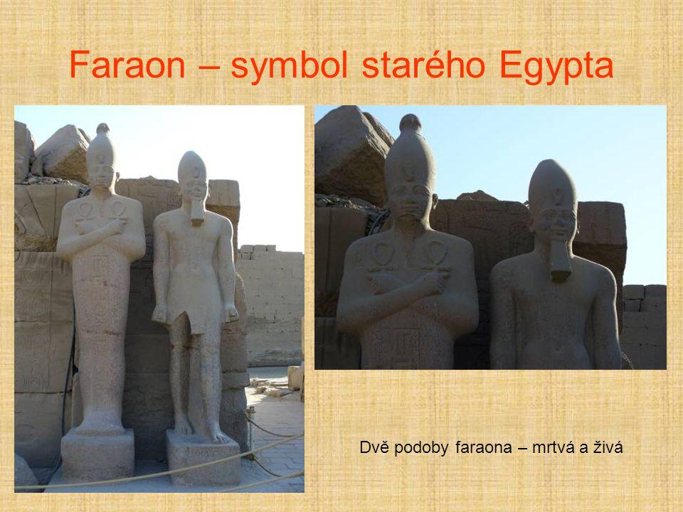 Faraon – symbol starého Egypta