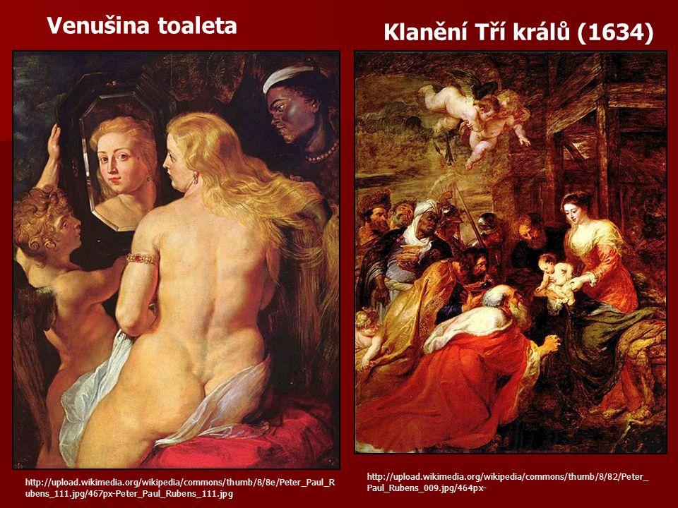 Venušina toaleta Klanění Tří králů (1634)
