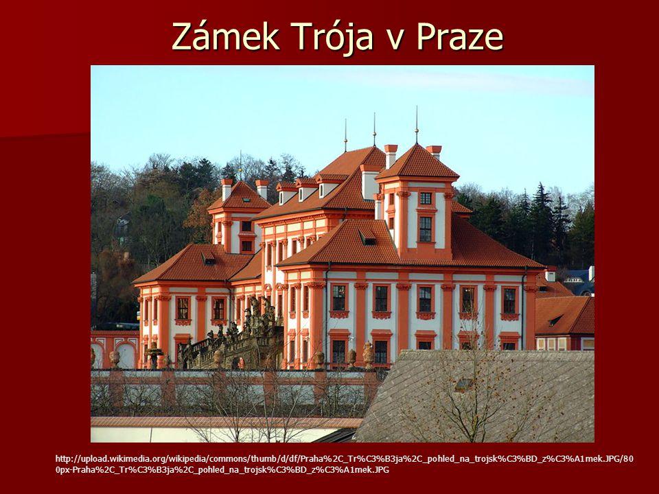 Zámek Trója v Praze