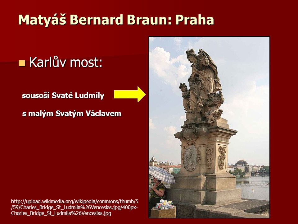 Matyáš Bernard Braun: Praha