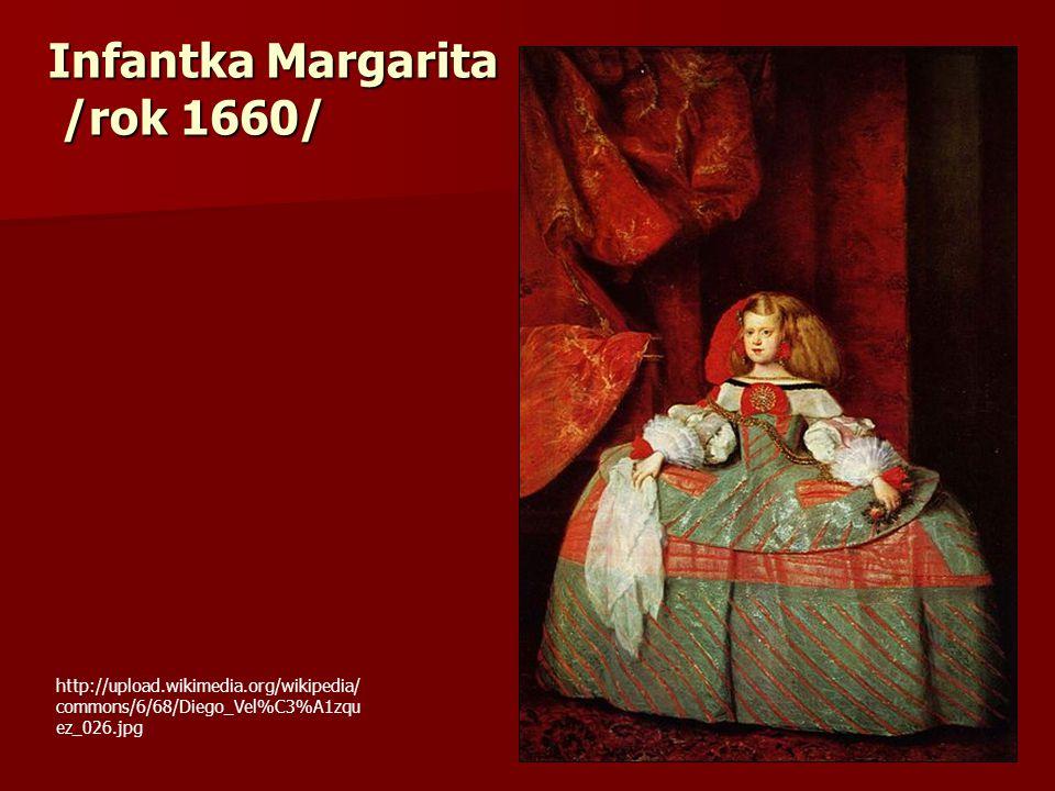 Infantka Margarita /rok 1660/