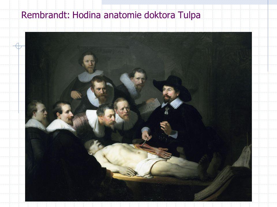 Rembrandt: Hodina anatomie doktora Tulpa