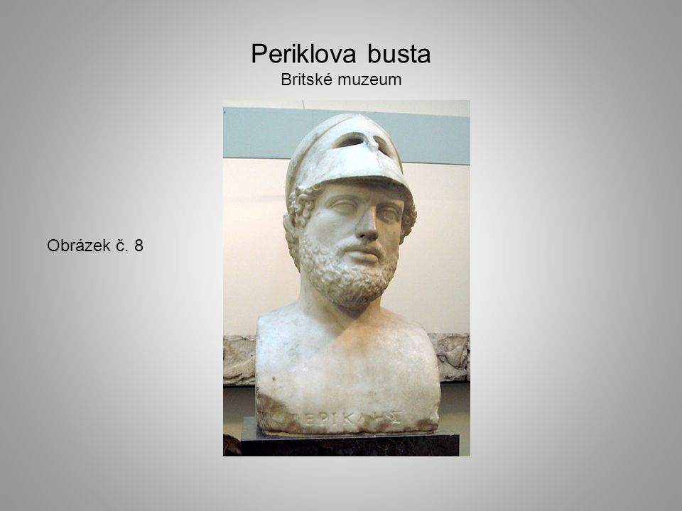 Periklova busta Britské muzeum