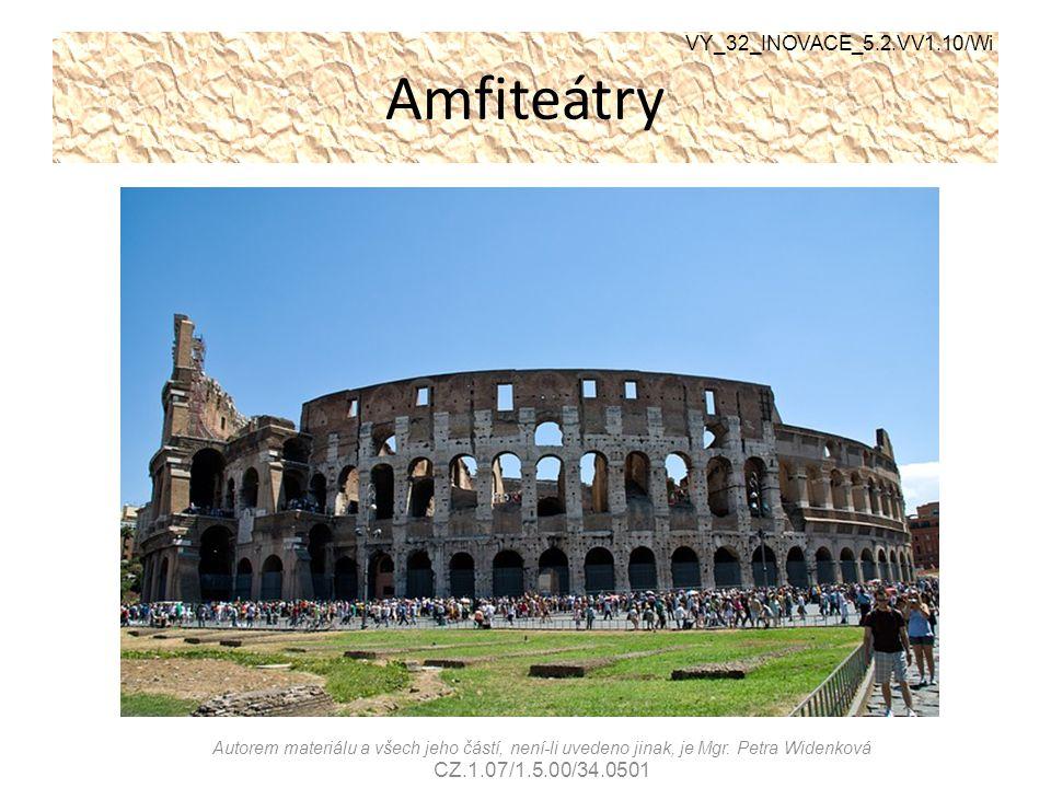 Amfiteátry VY_32_INOVACE_5.2.VV1.10/Wi