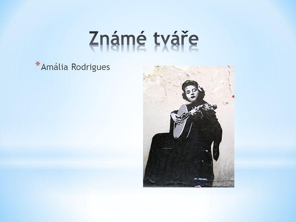 Známé tváře Amália Rodrigues