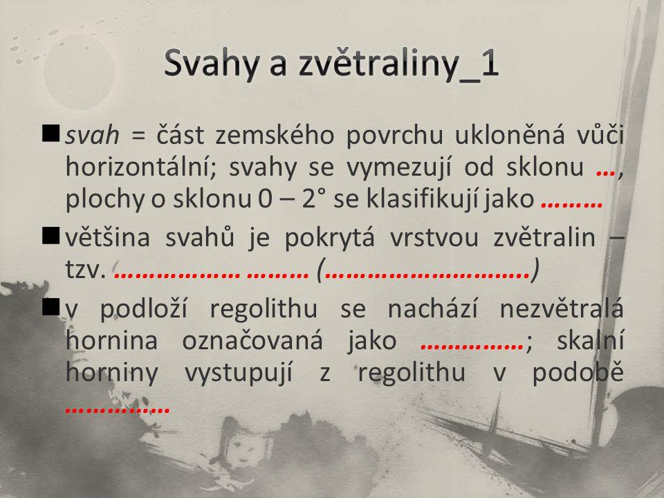 Svahy a zvětraliny_1