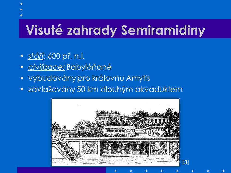 Visuté zahrady Semiramidiny