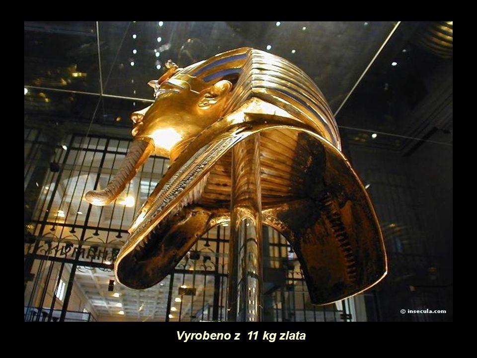 Vyrobeno z 11 kg zlata