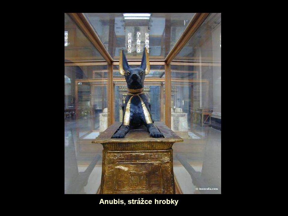 Anubis, strážce hrobky