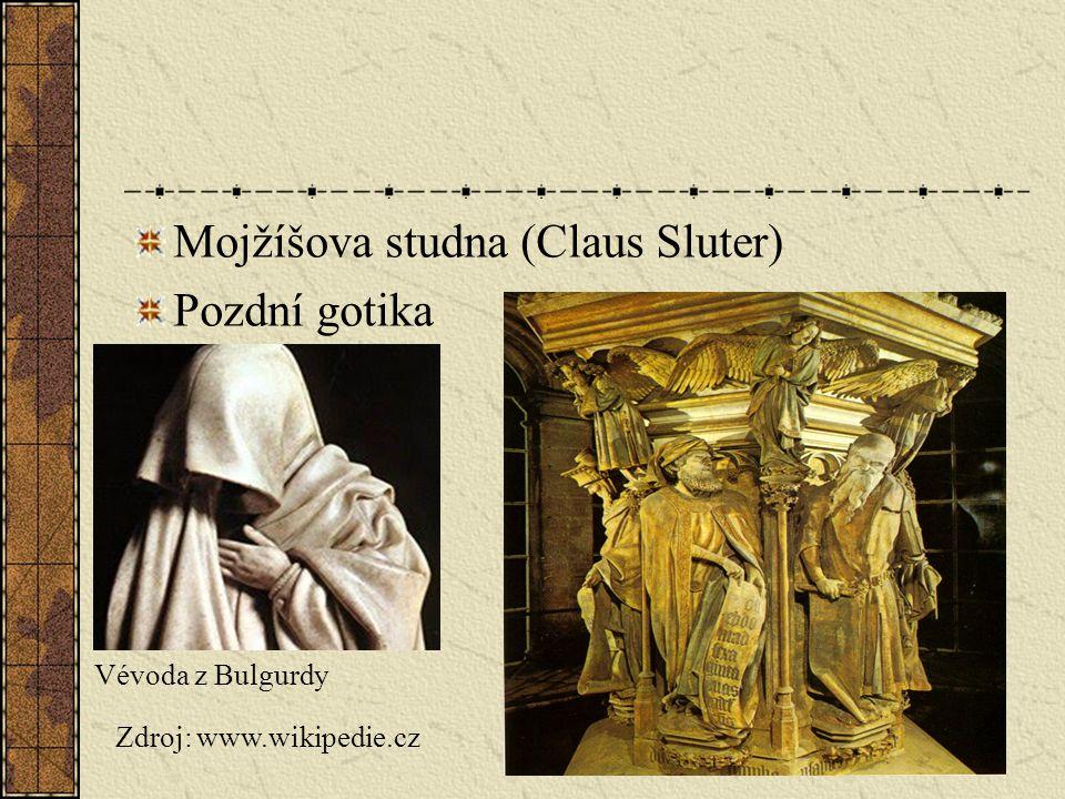 Mojžíšova studna (Claus Sluter) Pozdní gotika