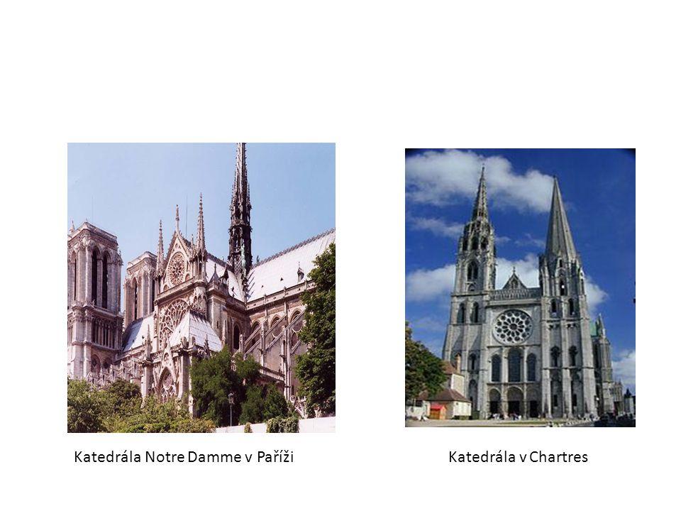 Katedrála Notre Damme v Paříži
