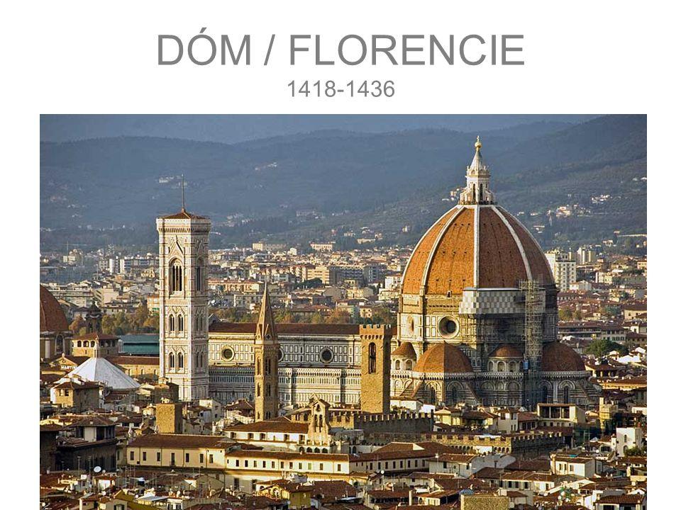 DÓM / FLORENCIE 1418-1436