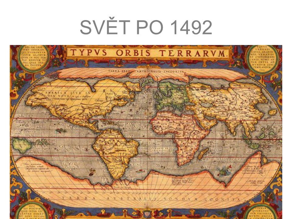 SVĚT PO 1492