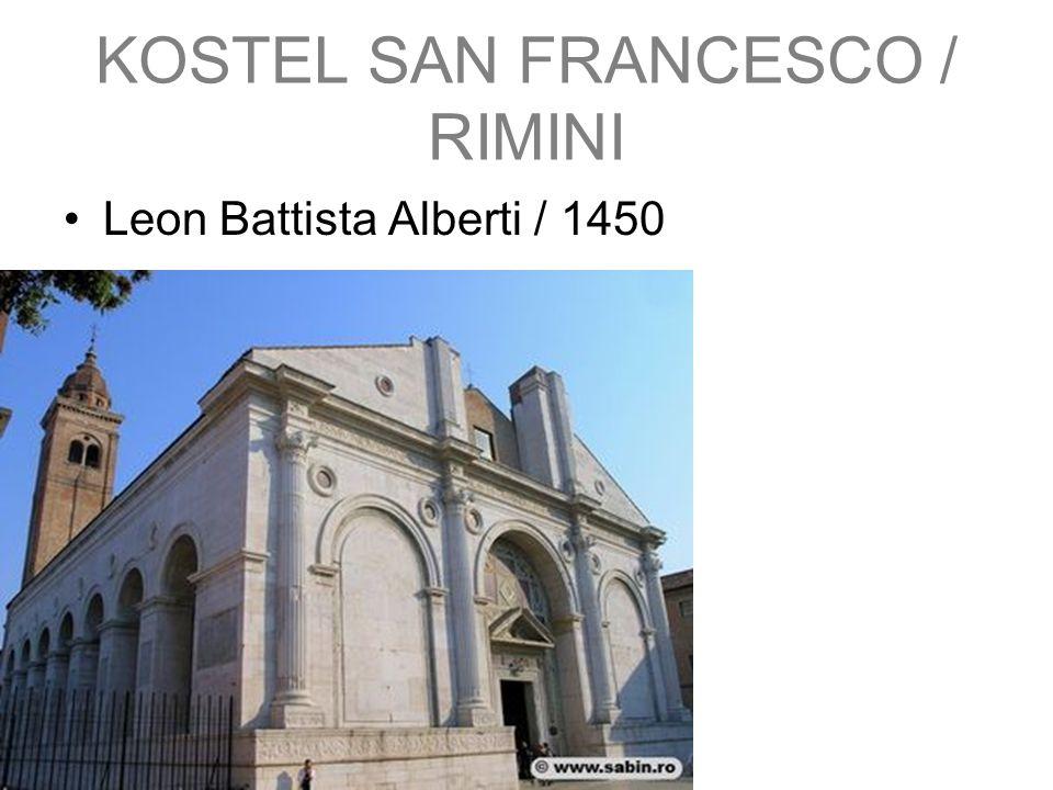 KOSTEL SAN FRANCESCO / RIMINI