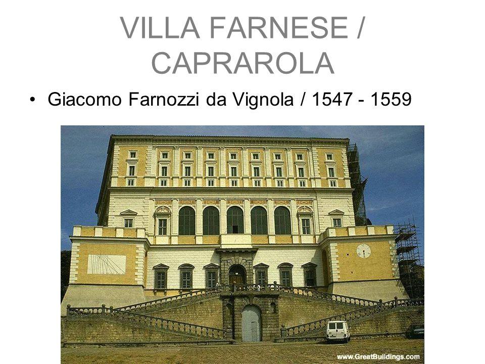 VILLA FARNESE / CAPRAROLA
