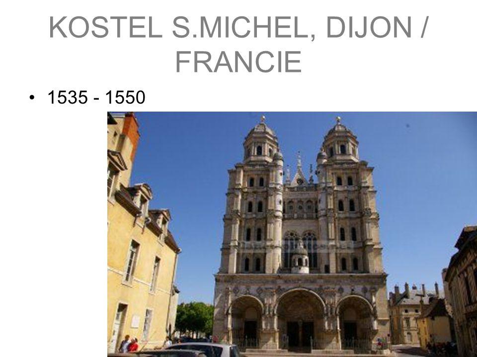 KOSTEL S.MICHEL, DIJON / FRANCIE