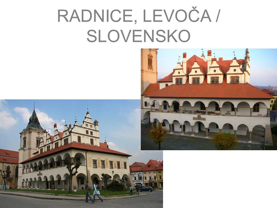 RADNICE, LEVOČA / SLOVENSKO