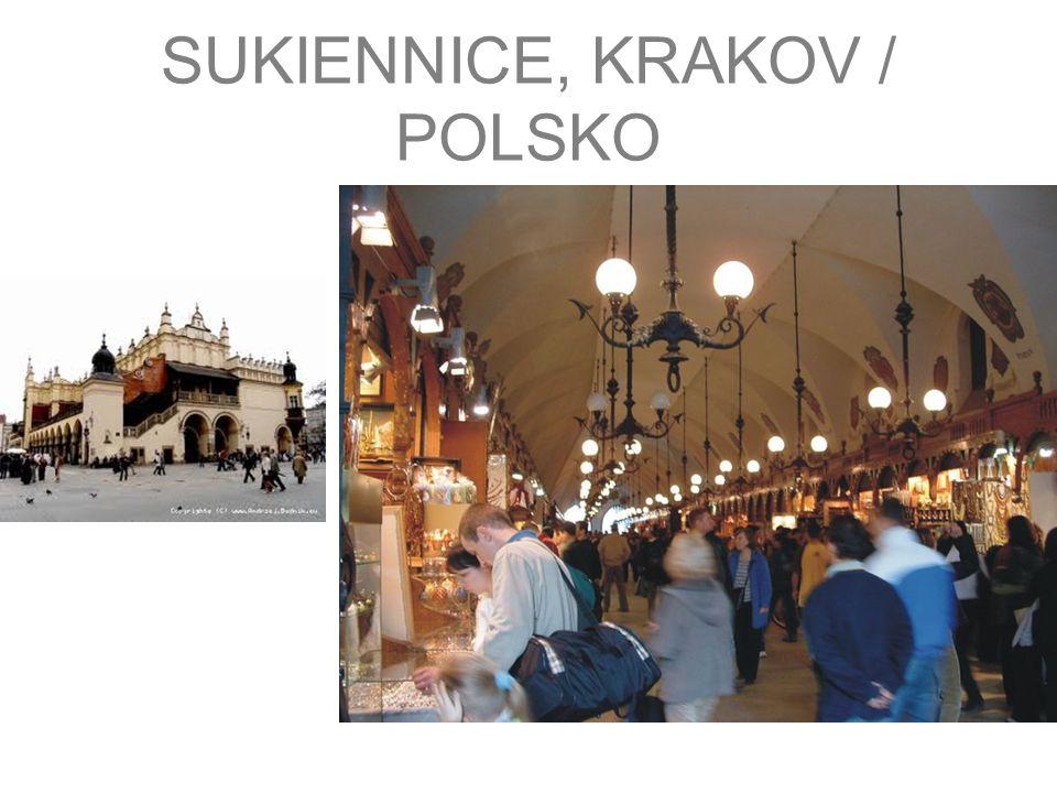 SUKIENNICE, KRAKOV / POLSKO