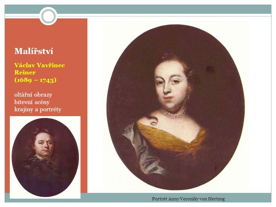 Portrét Anny Veroniky von Hertzog