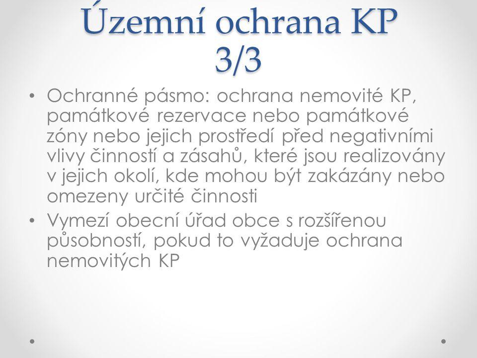 Územní ochrana KP 3/3