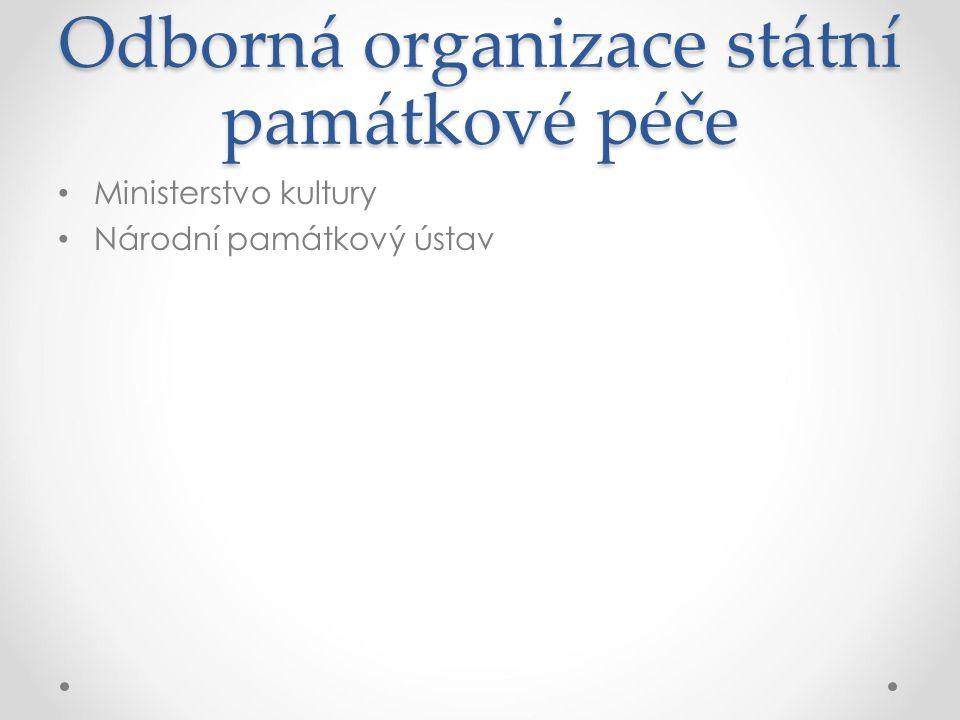 Odborná organizace státní památkové péče