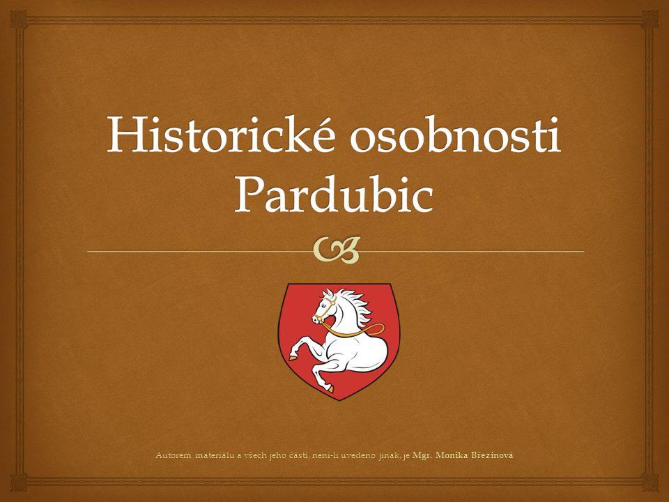 Historické osobnosti Pardubic