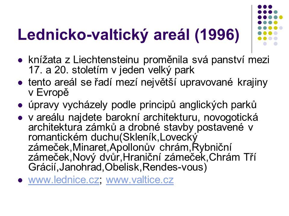 Lednicko-valtický areál (1996)