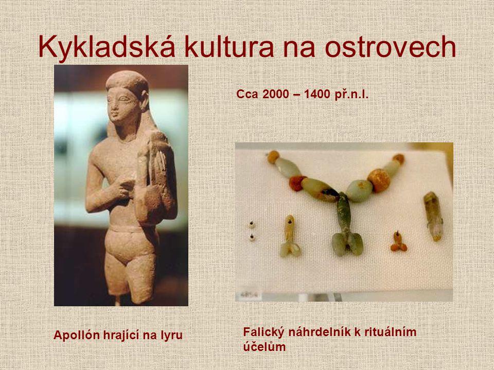 Kykladská kultura na ostrovech