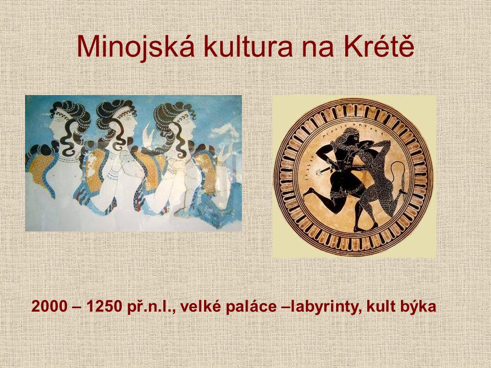Minojská kultura na Krétě