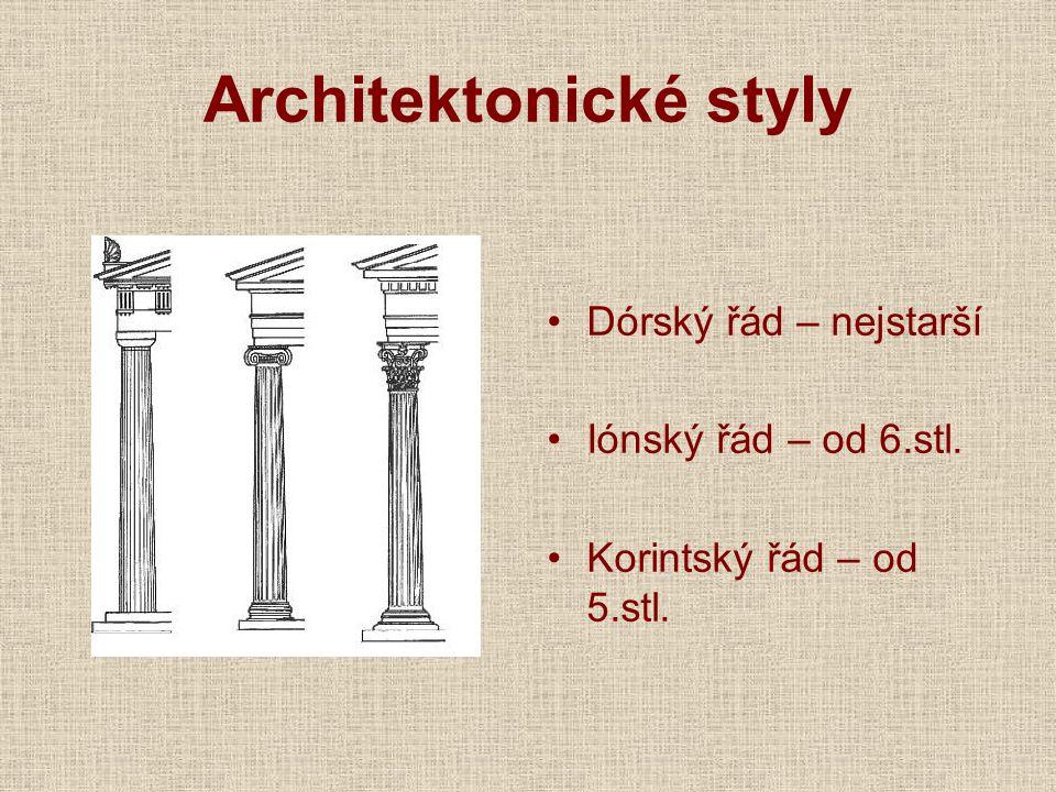 Architektonické styly